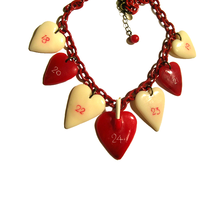 """Advent Heart"" Lill's Jewelry Tokyo. (A Plastic Jewelry & Arty.)"